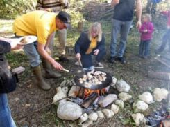 Outdoortraining Kochen in der Natur